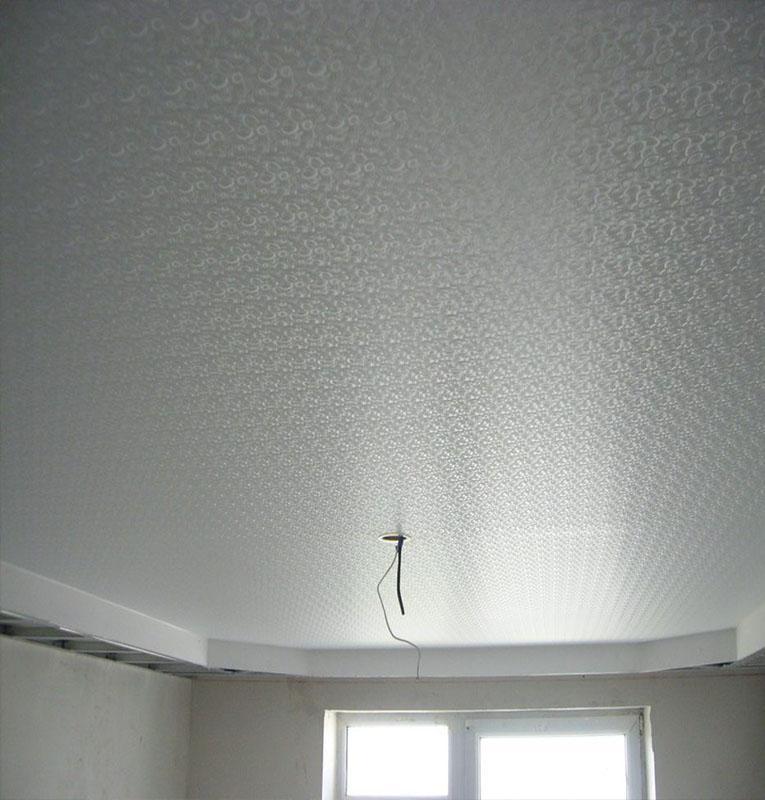 Фактурные потолки текстура