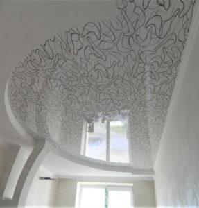 Фактурные потолки бумеранг