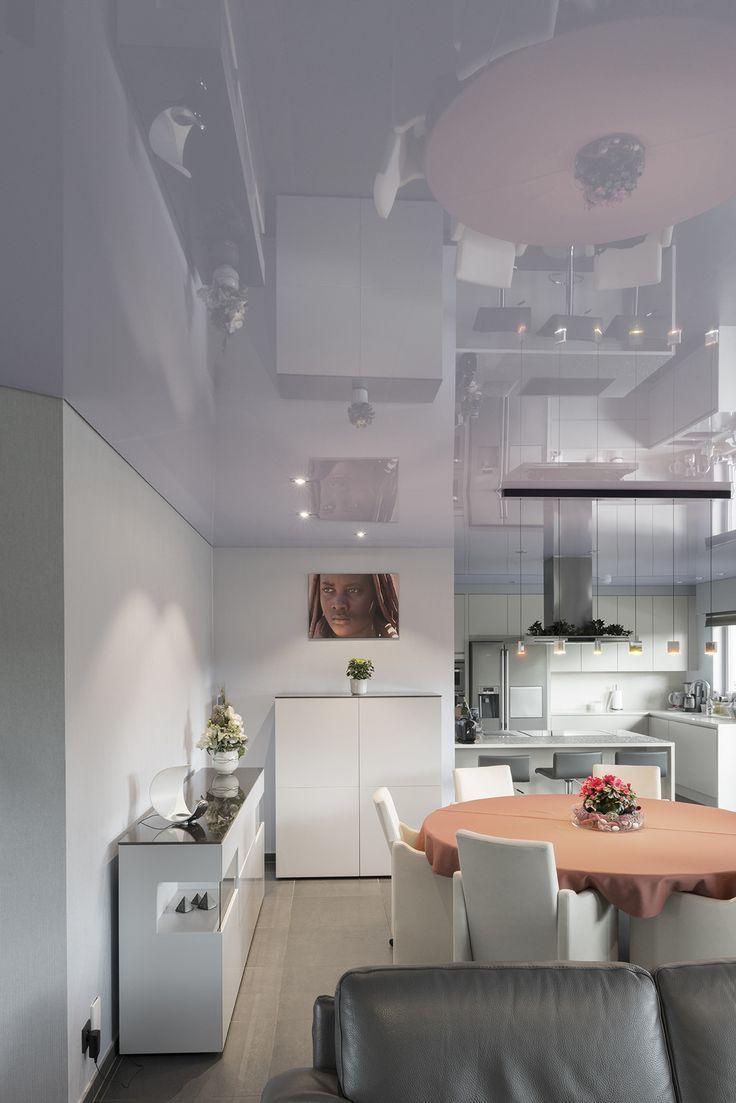 Глянцевый кухня Pongs