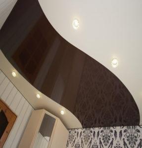 Комбинированные потолки дизайн