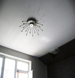 Матовые потолки белые в интерьере