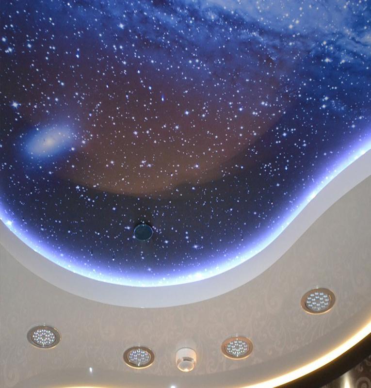 потолок космос натяжной