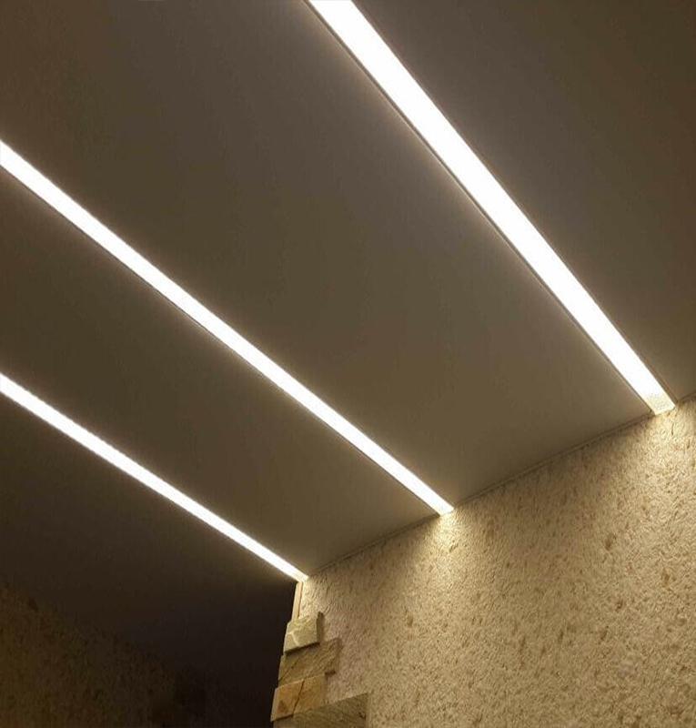 Подсветка потолка в квартире