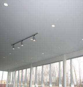 Тканевые потолки минимализм