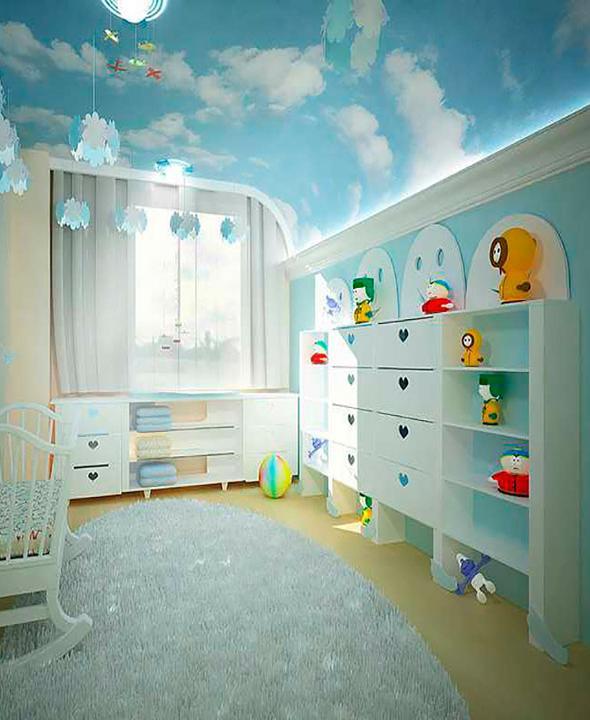 детский потолок