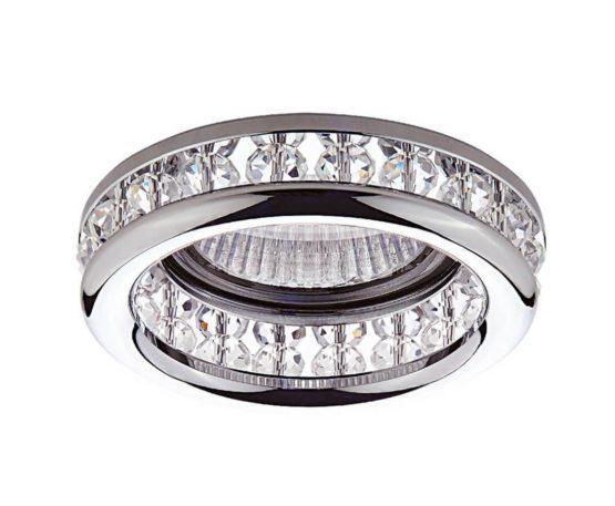 Встраиваемый светильник Lightstar Monile (silver)