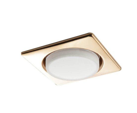 Встраиваемый светильник Lightstar Tablet Золотой