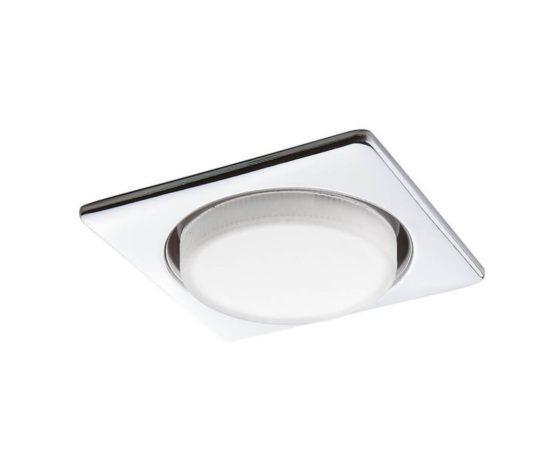 Встраиваемый светильник Lightstar Tablet Хром 12 Вт