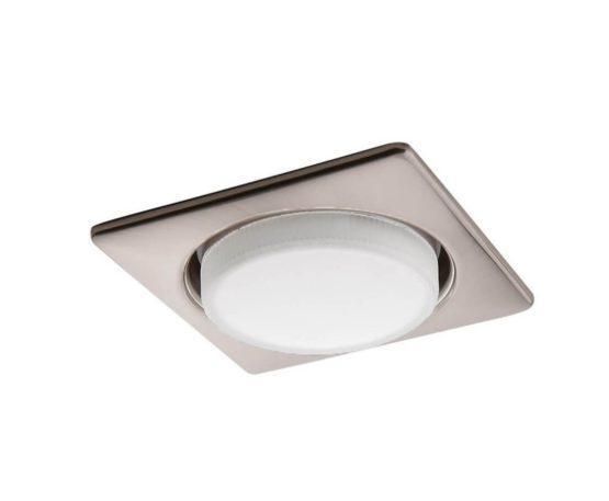 Встраиваемый светильник Lightstar Tablet Никель 12 Вт