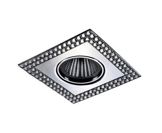Встраиваемый светильник Novotech Mirror (темный хром)