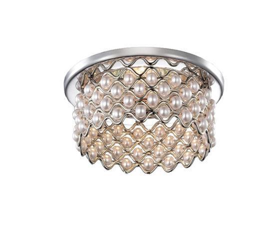 Встраиваемый светильник Novotech Pearl (хром)