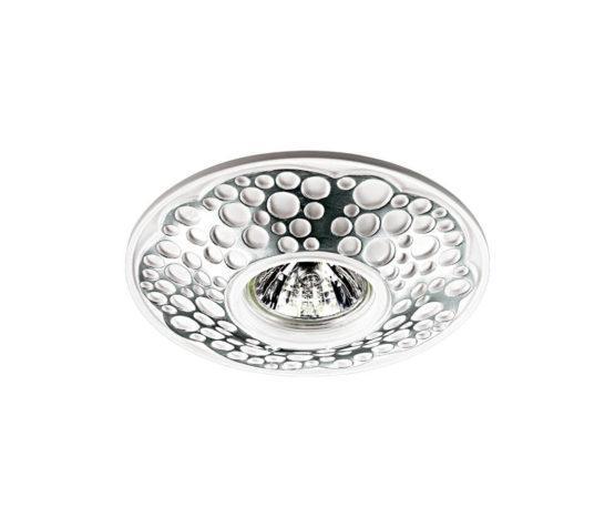 Встраиваемый светильник Novotech Pattern (silver)