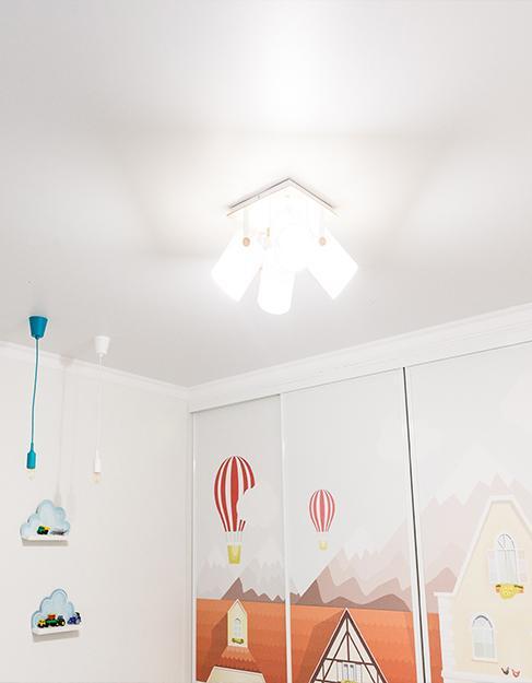 белый матовый детская комната Teqtum