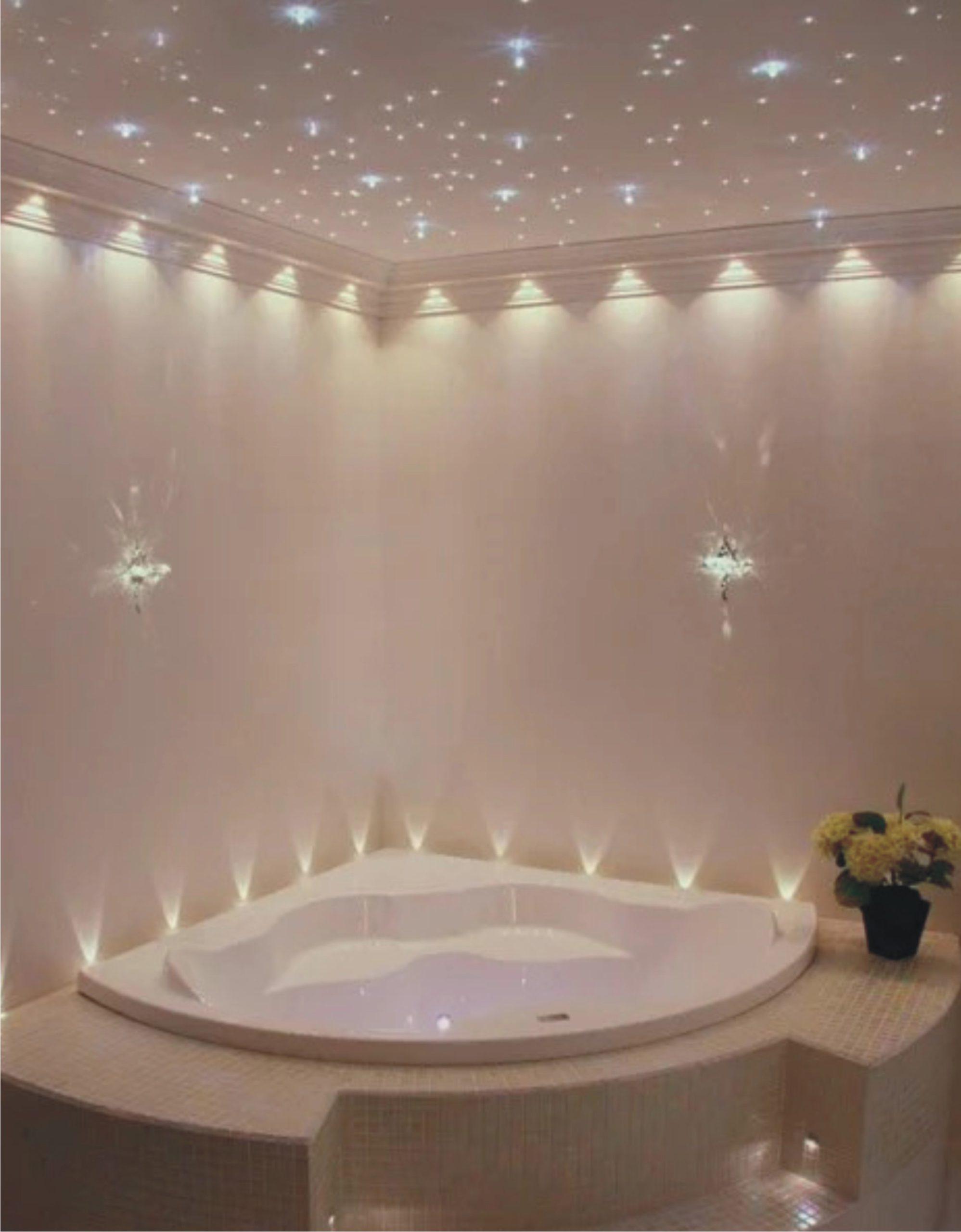 галактический потолок в ванной