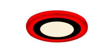 Трёхрежимный светильник LED (красный)