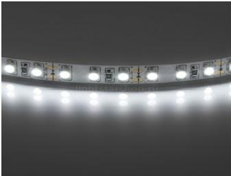 Лента светодиодная 14.4 Вт 120 LED белая