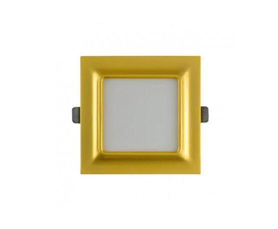 Светодиодный квадратный светильник (gold)