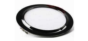 Светодиодный квадратный светильник (черный)
