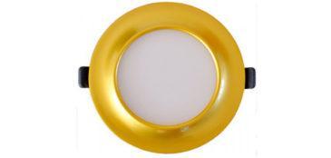 Светодиодный светильник (gold)