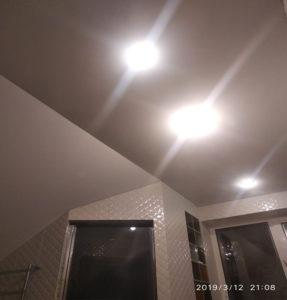 Матовые потолки стиль