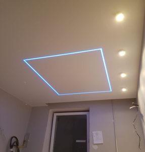 Матовые потолки геометрия