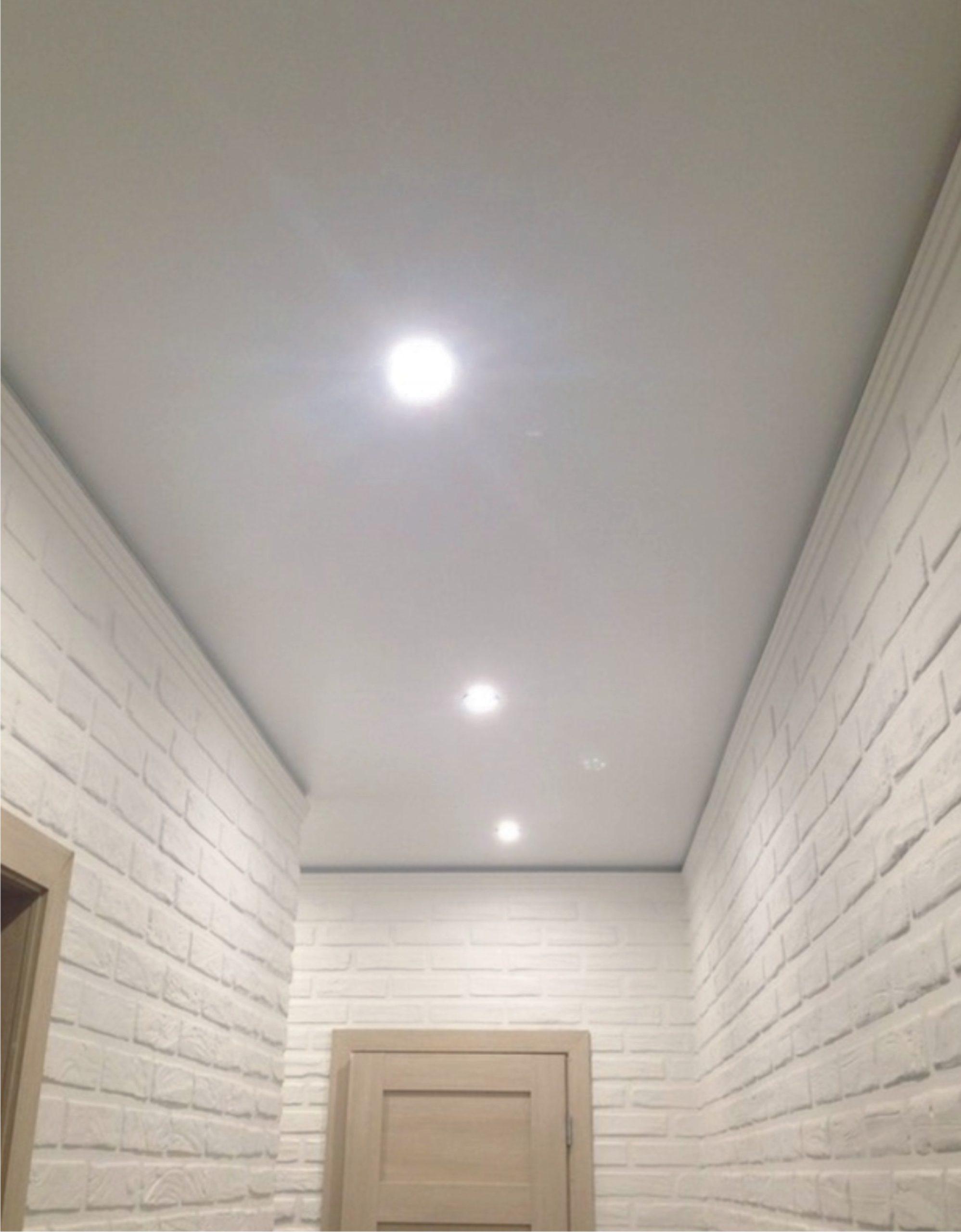классический матовый натяжной потолок