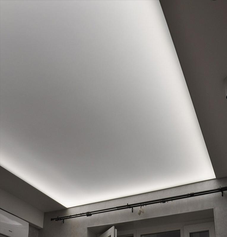 Светопрозрачные потолки в квартире
