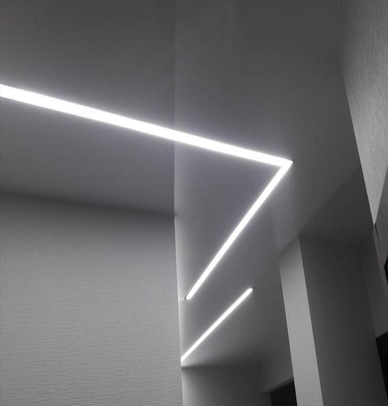световые линии дизайн подсветки