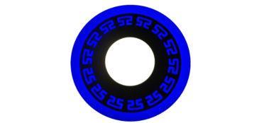 Трёхрежимный светильник LED (синий)